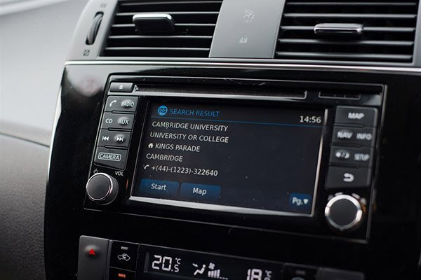Nissan Pulsar Navigation