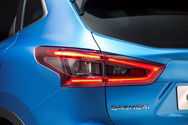 Nissan Qashqai Scheinwerfer hinten