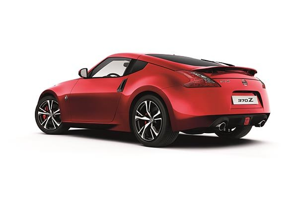 Nissan 370Z Ansicht hinten