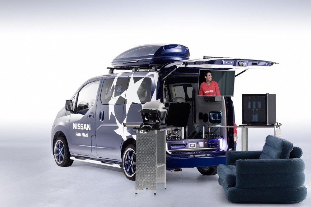 nissan nv200 evalia fan van van sinn nicht nur am ball. Black Bedroom Furniture Sets. Home Design Ideas
