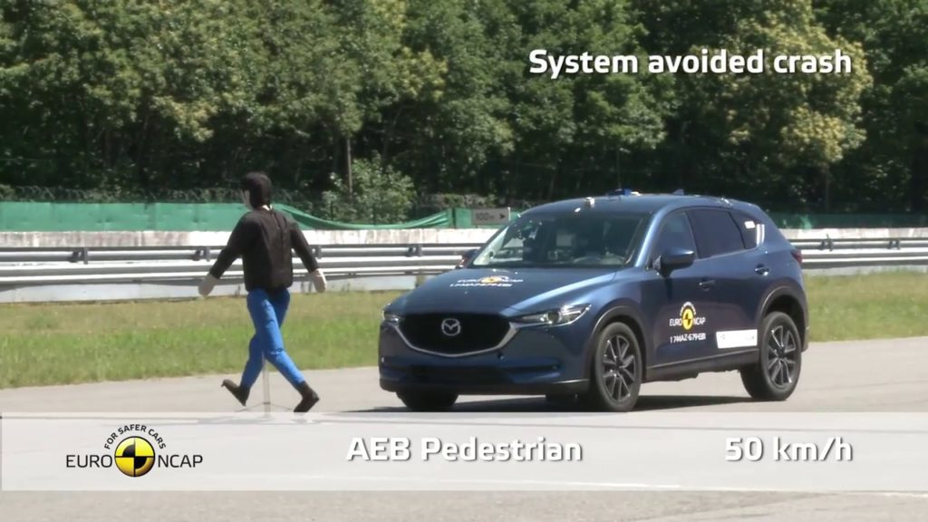 Mazda CX-5 Crashtest