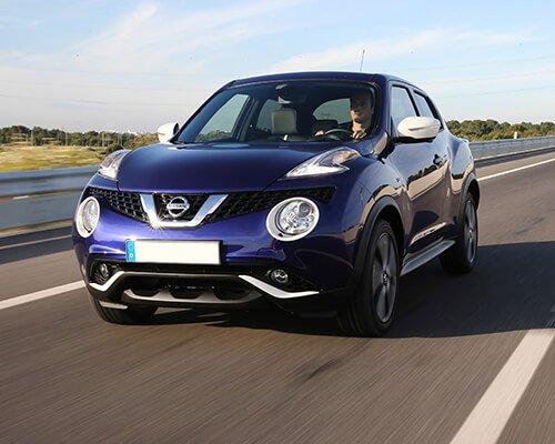 Nissan Juke Fahraufnahme