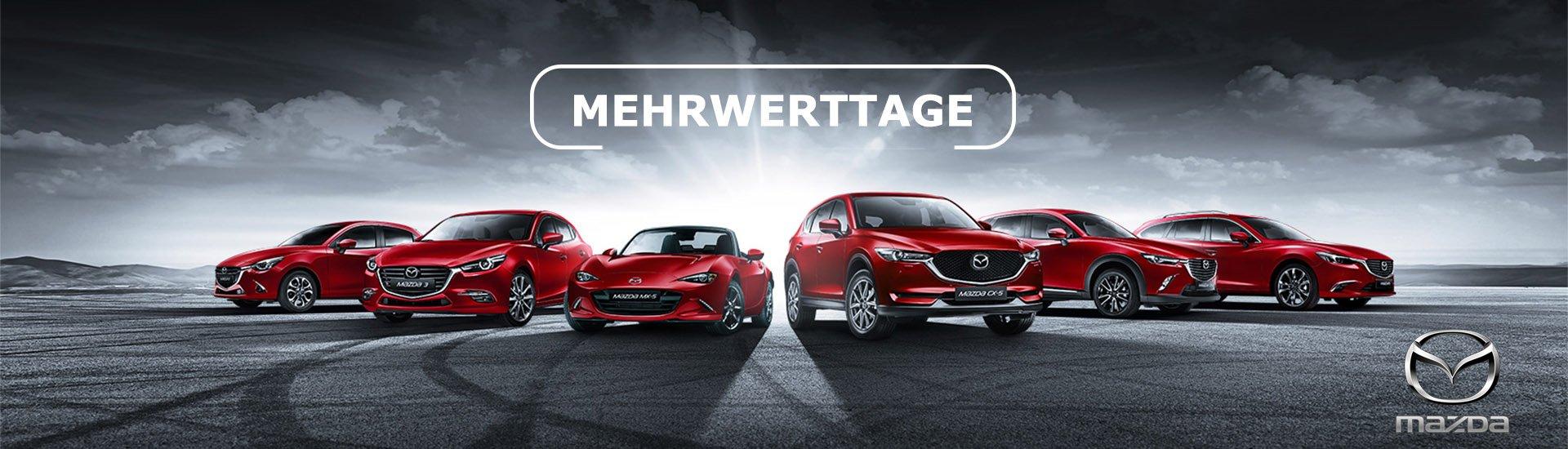Mazda Mehrwerttage