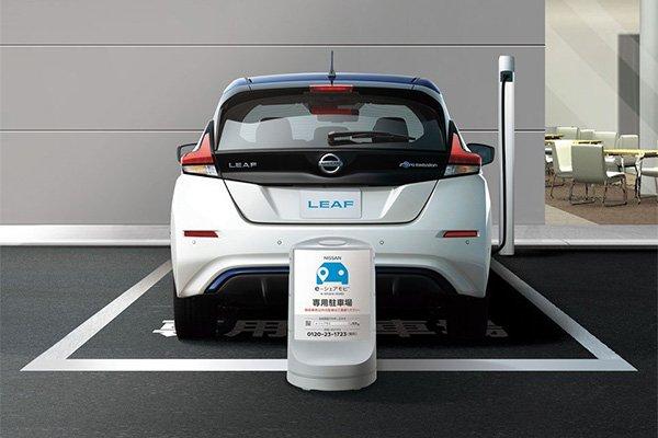 Nissan Leaf hinten