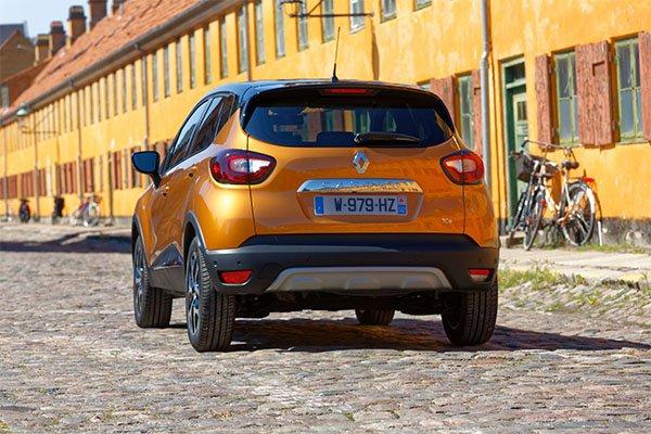 Renault Captur hinten