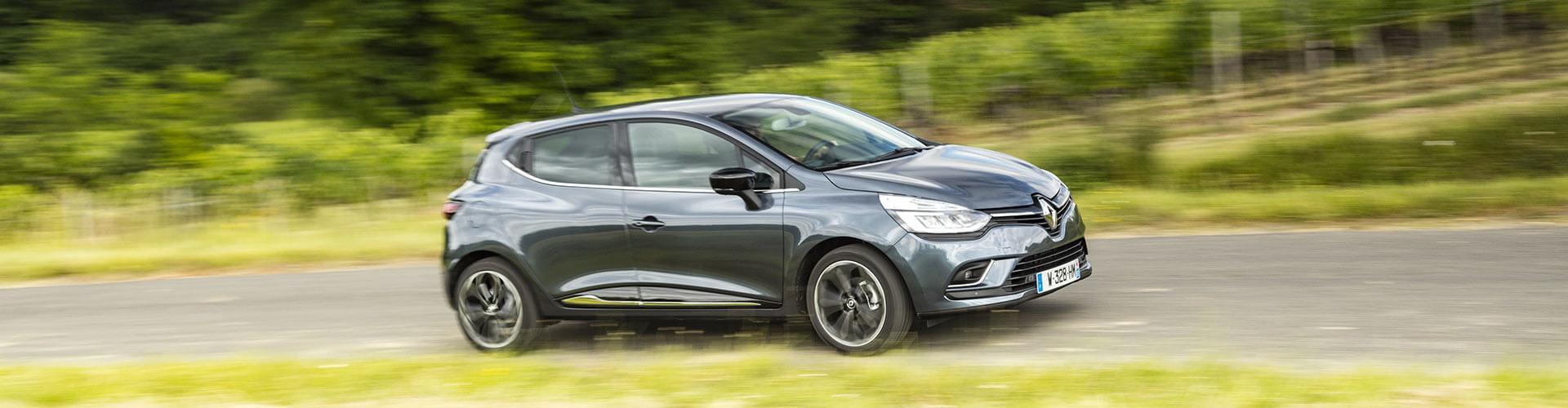 Renault Clio Fahraufnahmen