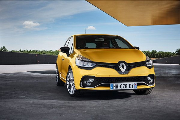 Der Renault Clio RS gelb
