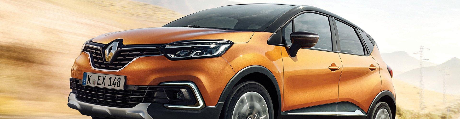 Renault Captur seitlich