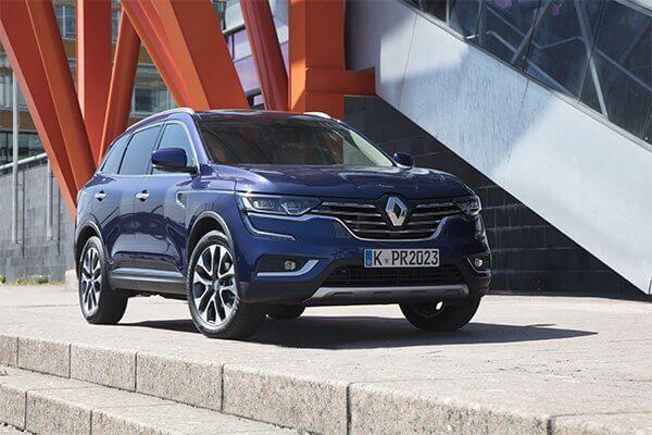 Renault Koleos blau