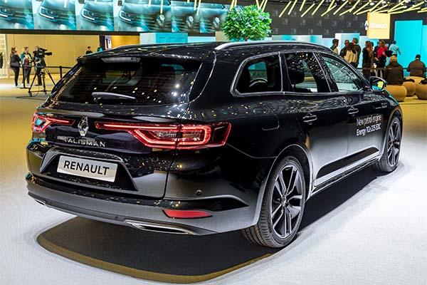 Renault Talisman S-Edition hinten