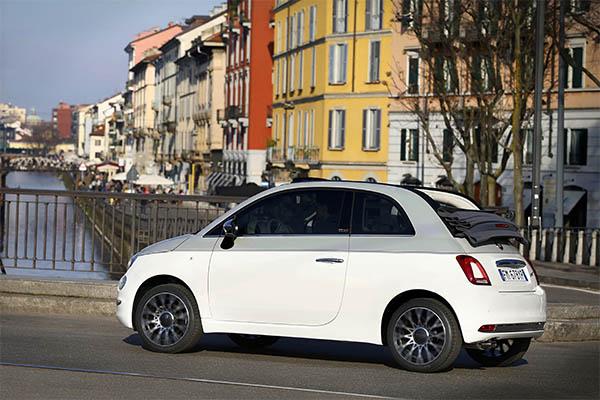 Fiat 500C Collezione Cabrio