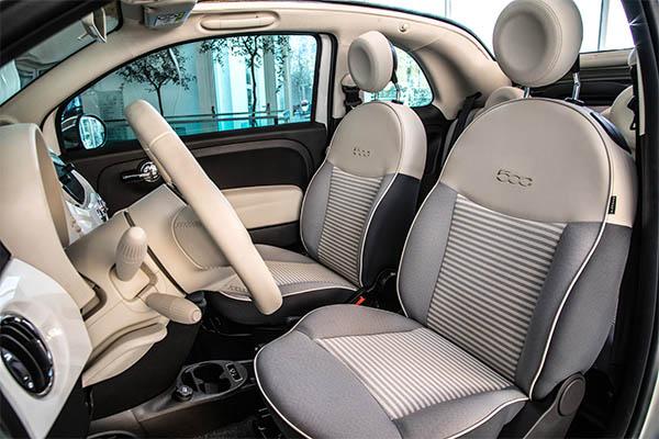 Fiat 500C Collezione Innen