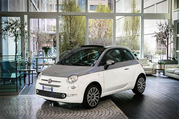 Fiat 500C Collezione weiß
