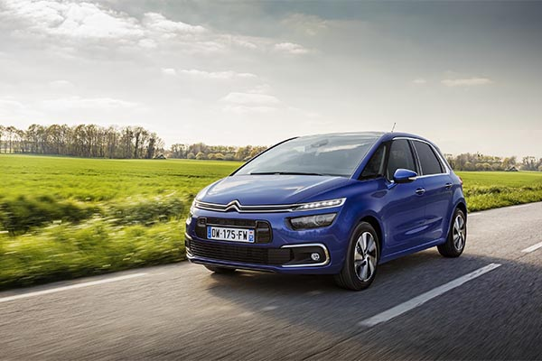 Citroen C4 Spacetourer blau