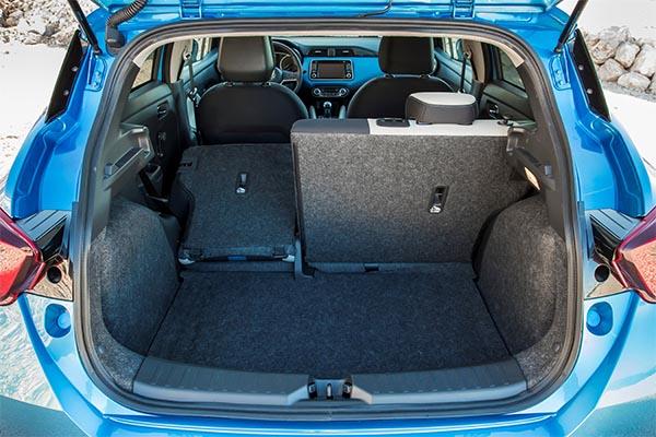 Nissan Micra Kofferraum