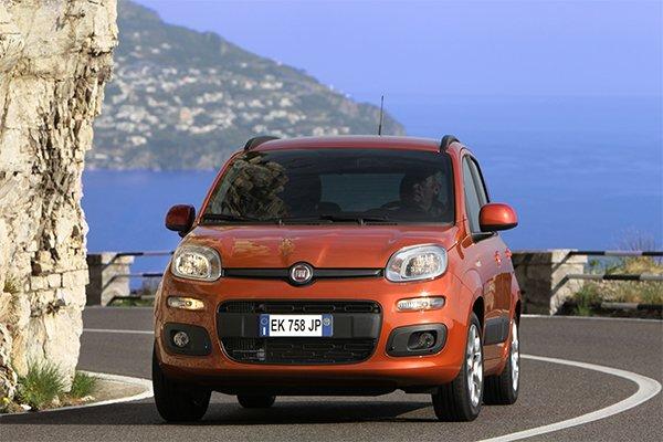 Fiat Panda Vorderansicht