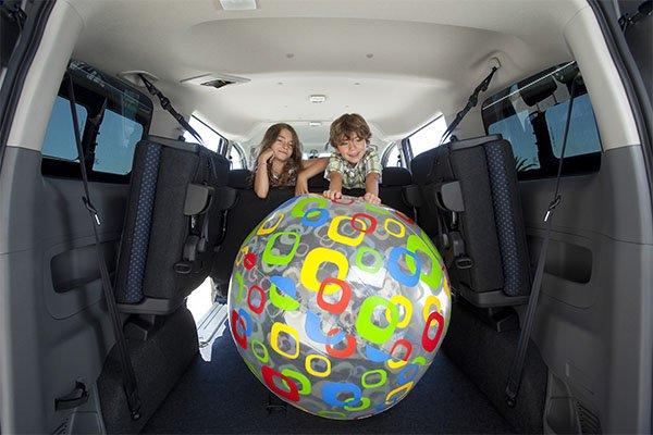 Nissan Evalia Kofferraum