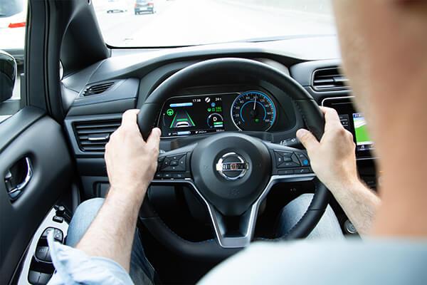 Nissan Leaf Lenkrad ProPilot