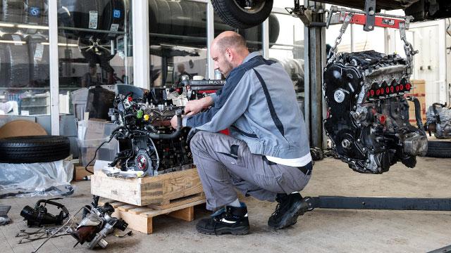 Werkstatt-Motor