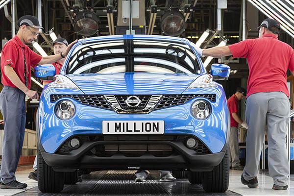 Nissan Juke 1 Millionen