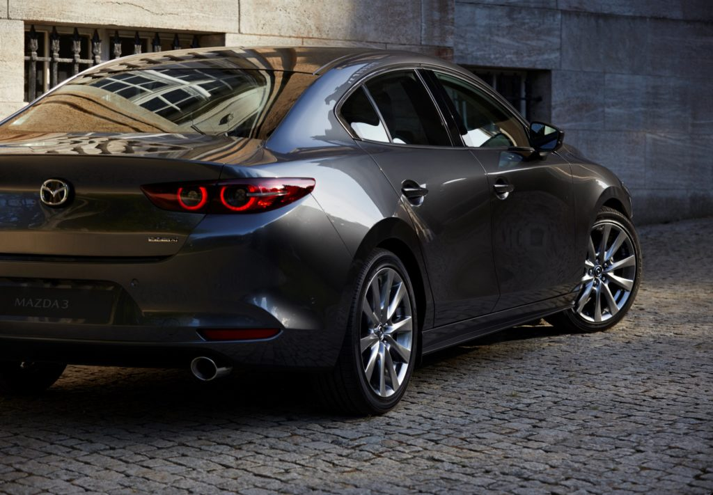 Mazda3 Fastback 2019 Rückleuchte