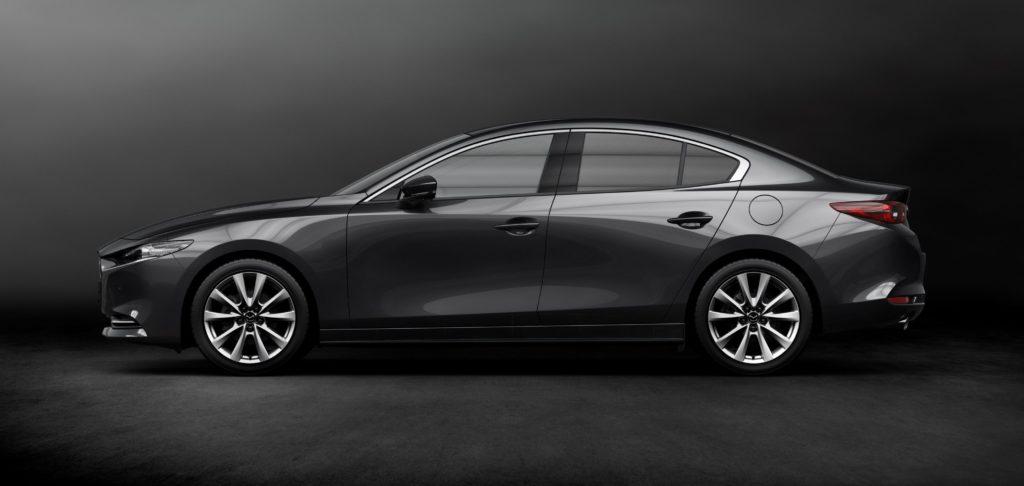 Mazda3 Fastback 2019 Seitenansicht