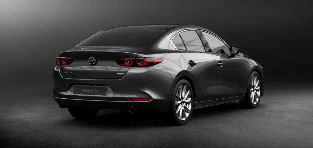 Mazda3 Fastback 2019 Heckansicht