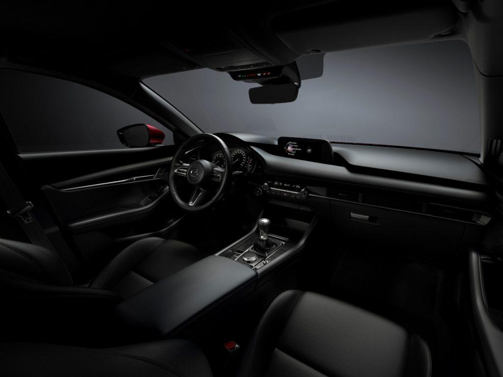 Mazda3 2019 Innenraum schwarz