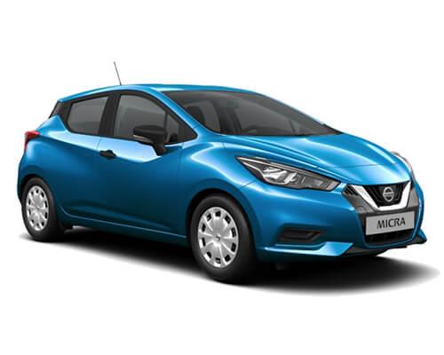Nissan Micra Visisa Plus blau
