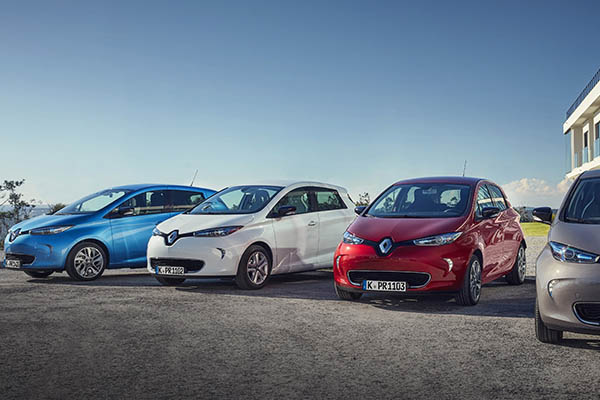 Renault Zoes Range