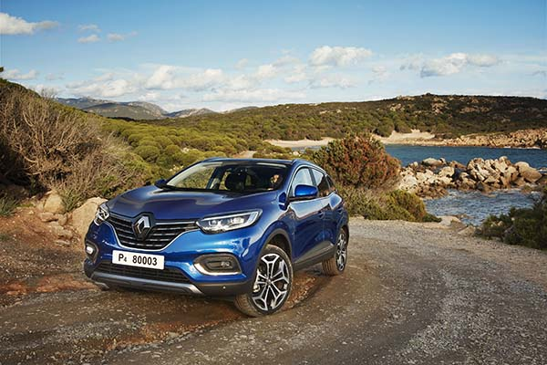 Renault Kadjar blau