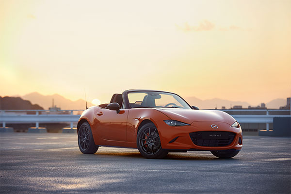Mazda MX5 Sondermodell 30th
