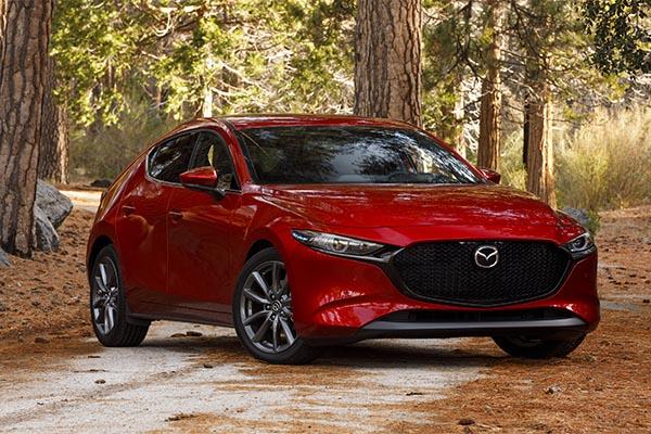 Mazda3 rot Modell 2019