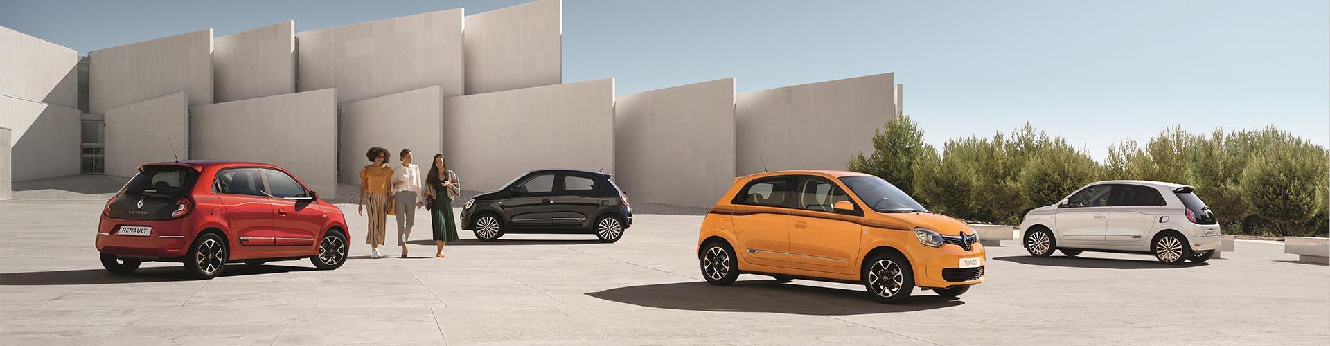 Renault Twingo Header