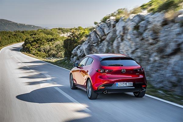 Mazda3 Ansicht hinten