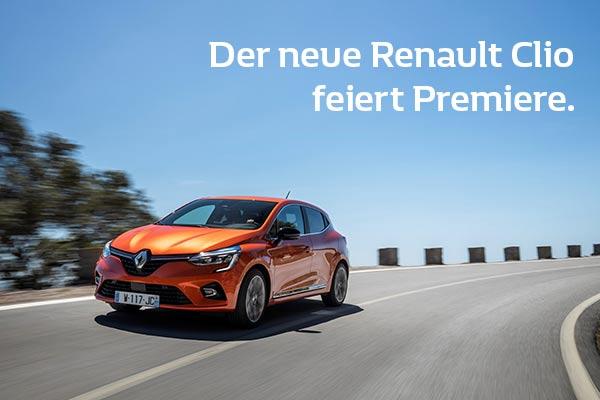 Premiere Renault Clio