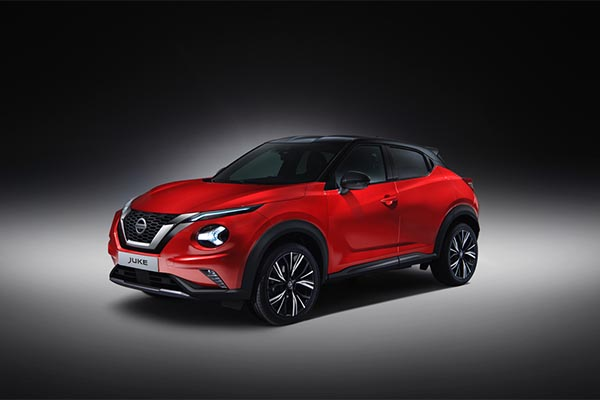 Nissan Juke rot Modell 2019/20