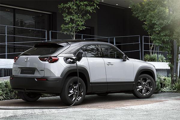 Mazda MX-30 Aufladestation