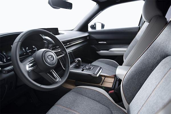 Mazda MX-30 Innenansicht