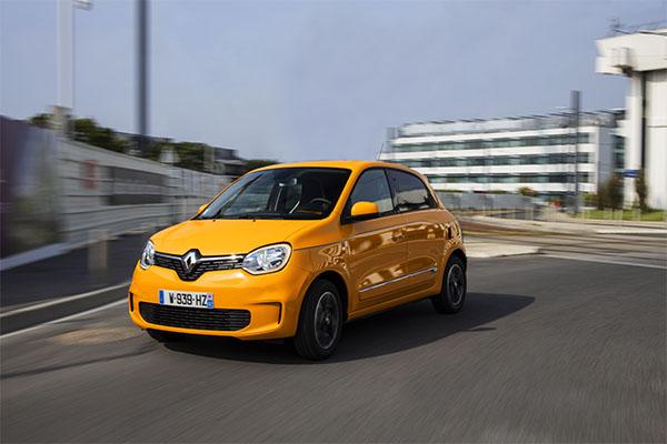 Renault Twingo gelb