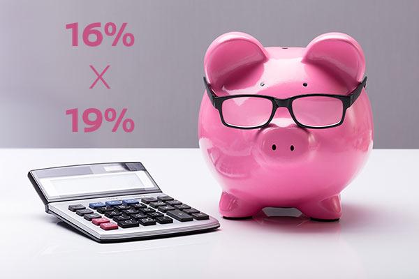 Mehrwersteuer 16%19%