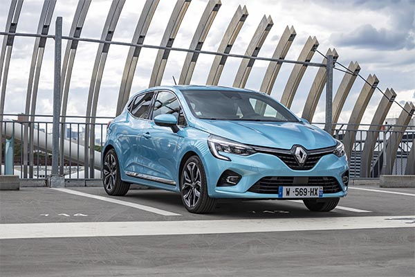 Renault Clio Hybrid 2020 Modell