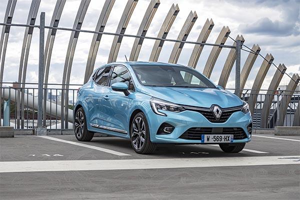 Renault Clio Hybrid blau Modell 2020
